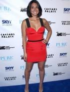Olivia Munn hot red