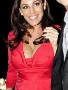 pregnant Kelly Brook cleavage