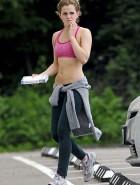 Emma Watson sports bra
