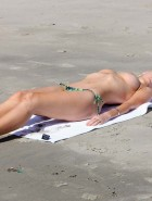 Sophie Monk topless bikini