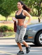 Jenni JWoww Farley sports bra