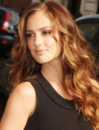 Minka Kelly Salvatore Ferragamo Collection
