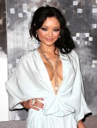 Tila Tequila fake cleavage