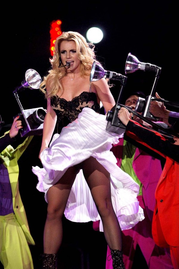 Britney Spears hot at stage