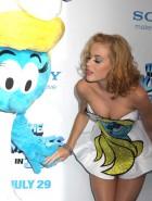 Katy Perry smurfs premiere