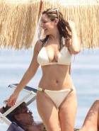 Kelly Brook nipples in bikini