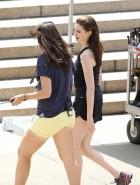 Anne Hathaway short shorts