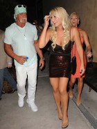 Brooke Hogan PETA cleavage