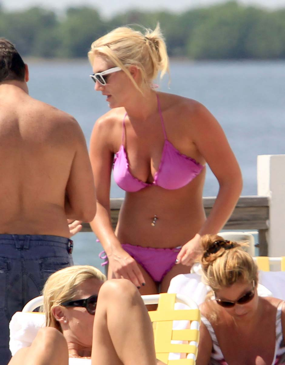 Topic Thanks Brooke hogan pink thong bikini not so
