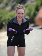 Hilary Duff danskin