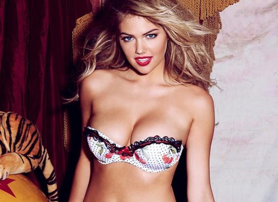 Kate Upton Busty Bikini Pictures