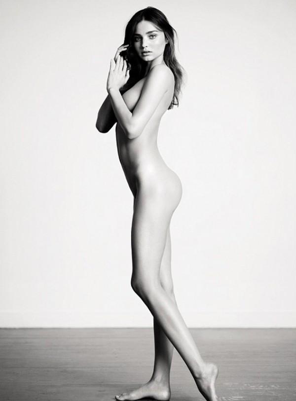 Miranda Kerr naked INDUSTRIE