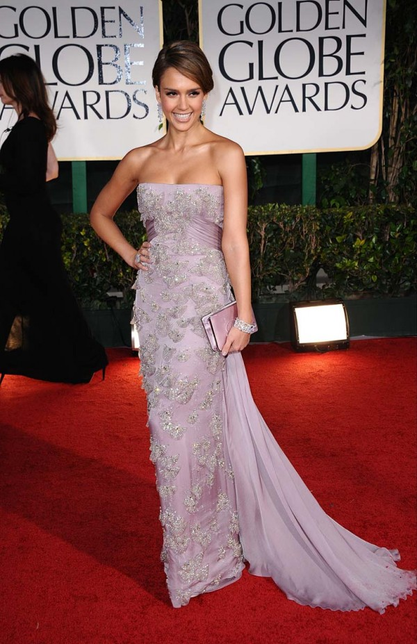 Jessica Alba 69th Annual Golden Globe Awards