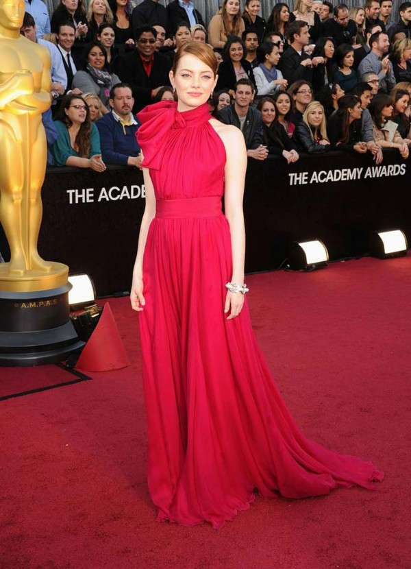 Emma Stone 84th annual academy awards