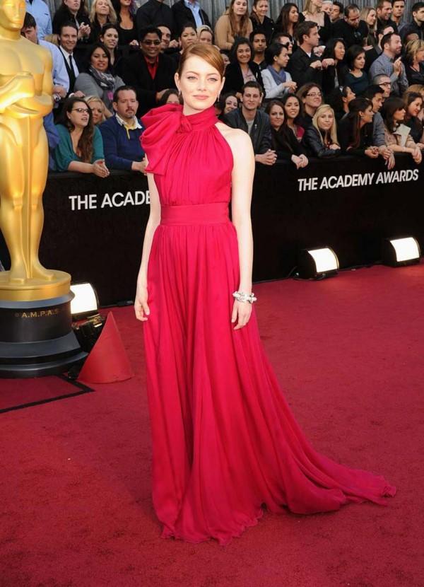 Emma Stone 84th annual academy awards