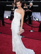 Milla Jovovich 84th annual academy awards