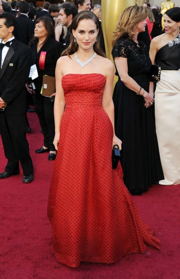 Natalie Portman 84th annual academy awards