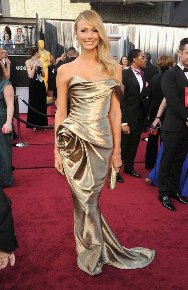 Stacy Keibler 84th annual academy awards