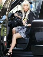 Kim Kardashian upskirt