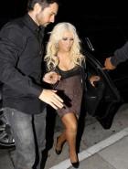 Christina Aguilera cleavage