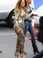 Jennifer Lopez booty gold