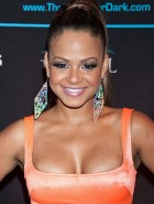 Christina Milian tight dress