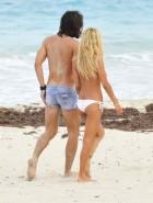 Shauna Sand blowjob sex beach