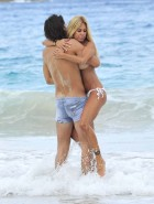Shauna Sand blowjob sex beach