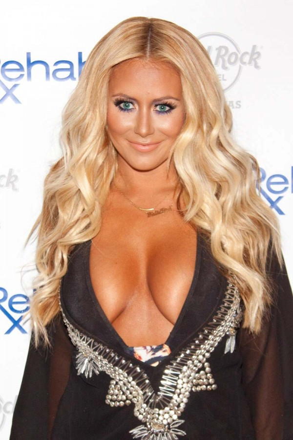 Aubrey O'Day swimsuit