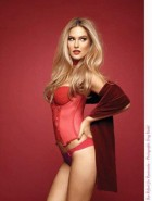 Bar Refaeli lingerie photoshoot