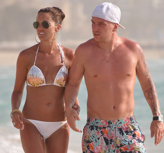 Danielle Lloyd bikini
