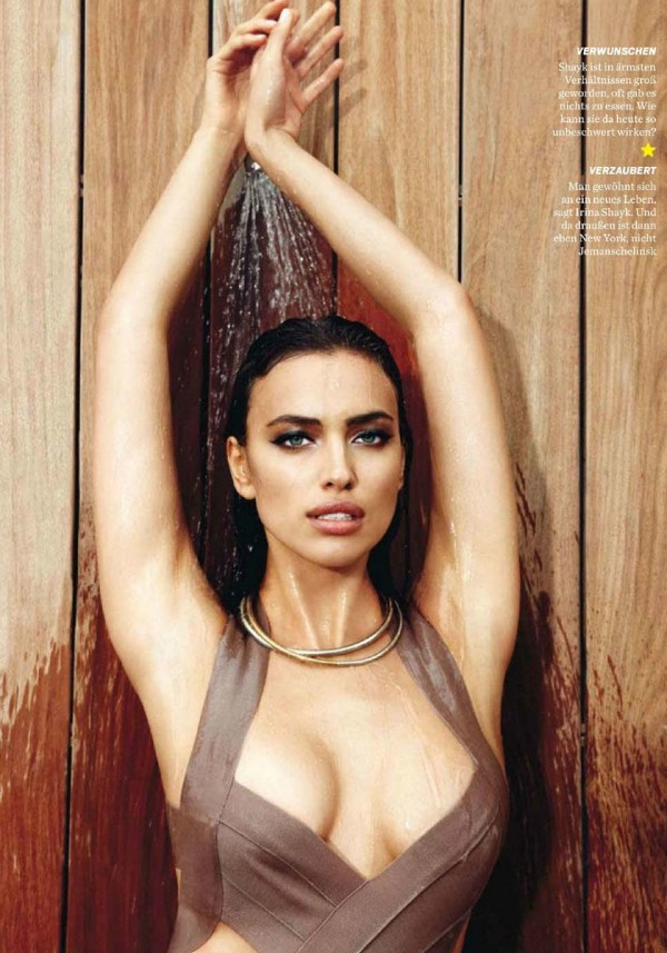 Irina Shayk gq germany