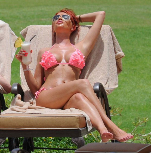 Amy Childs bikini