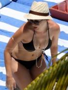 Katy Perry black bikini