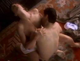 Nude Girl Uses Dildo Gif