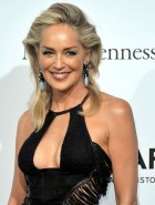 Sharon Stone cleavage