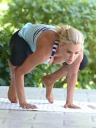 Jenny McCarthy yoga