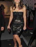 Elizabeth Hurley black dress