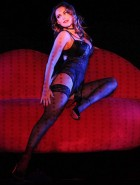 Kelly Brook burlesque show
