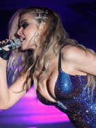 Carmen Electra performs