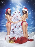 Lucy Pinder xmass