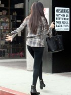 Selena Gomez leggings