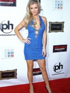 Joanna Krupa blue dress