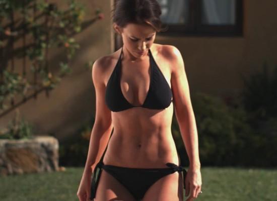Lacey Chabert bikini