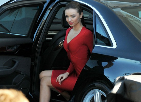 Miranda Kerr red hot