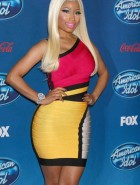 Nicki Minaj tight dress