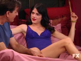 Selma Blair lingerie