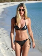 Caprice Bourret bikini