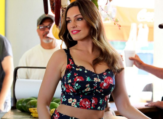 Kelly Brook new look