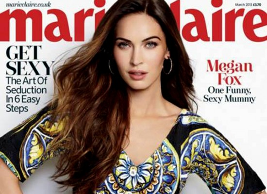 Megan Fox marie claire
